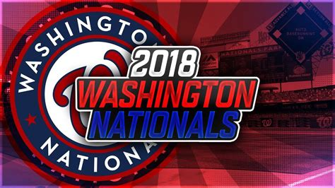 2018 WASHINGTON NATIONALS (PROJECTED OPENING DAY ROSTER ...