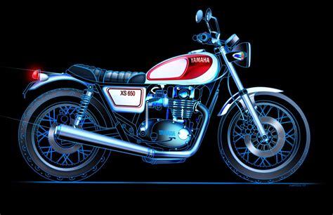 2018 Yamaha XS650 Concept