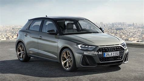 2019 Audi A1 Sportback leaked official image   Motor1.com ...