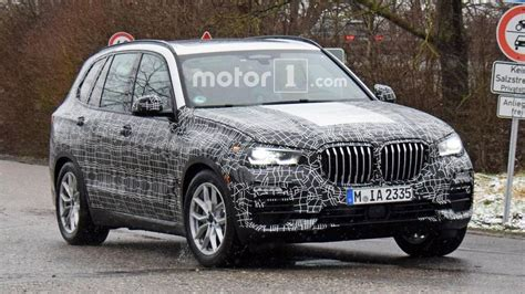 2019 BMW X5 Spied Testing In Less Camouflage