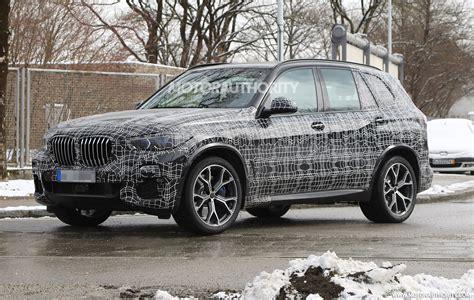 2019 BMW X5 spy shots and video