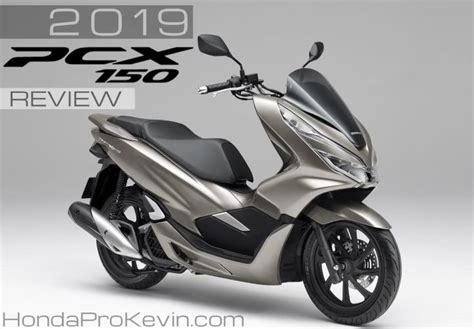 2019 Honda PCX150 Scooter Review / Specs + NEW Changes! | PCX