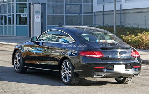 2019 Mercedes Benz C Class Coupe Facelift Shows All New ...