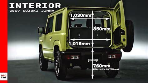 2019 Suzuki Jimny Interior - YouTube