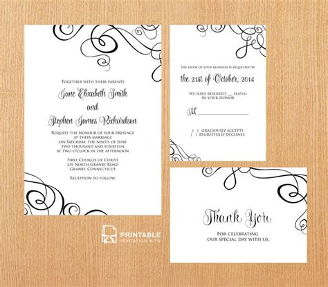 206 best images about Wedding Invitation Templates (free ...
