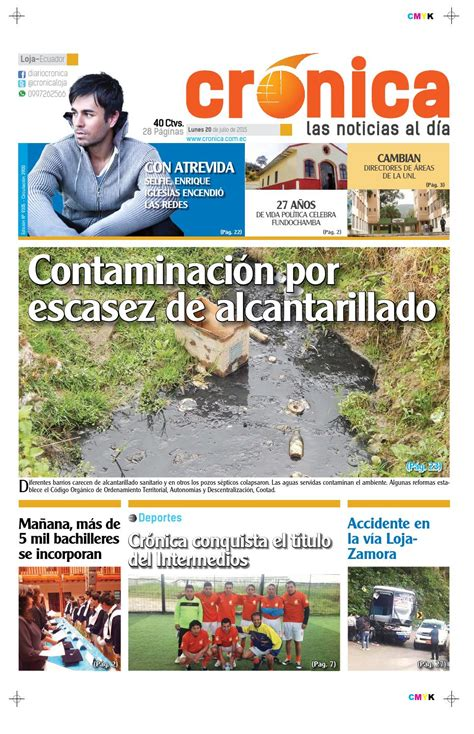 20julio2015 9305 by Diario Crónica - issuu
