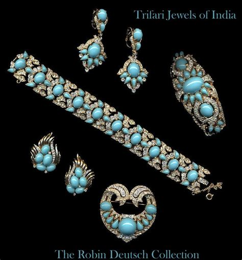 217 best Trifari Jewelry images on Pinterest | Ancient ...