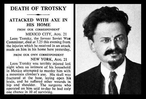 21st August 1940   Death of Leon Trotsky   Bradford ...