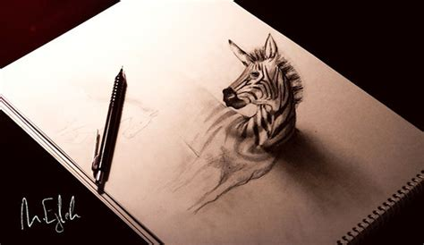 22+ 3D Pencil Drawing - JPG Download