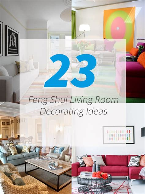 23 Feng Sui Living Room Decorating Ideas to Bring You Luck ...