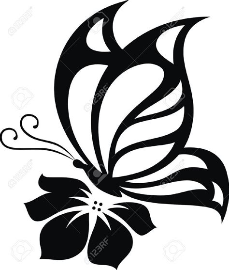237 best Silhouettes Butterfly Silhouettes images on ...