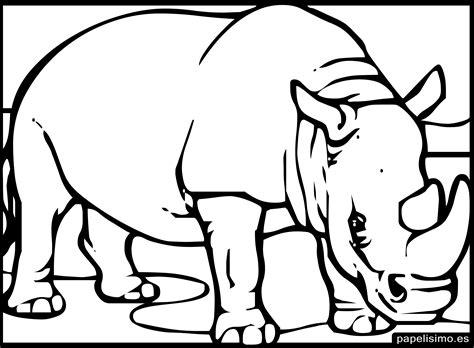 24 animales para colorear para niños   PAPELISIMO