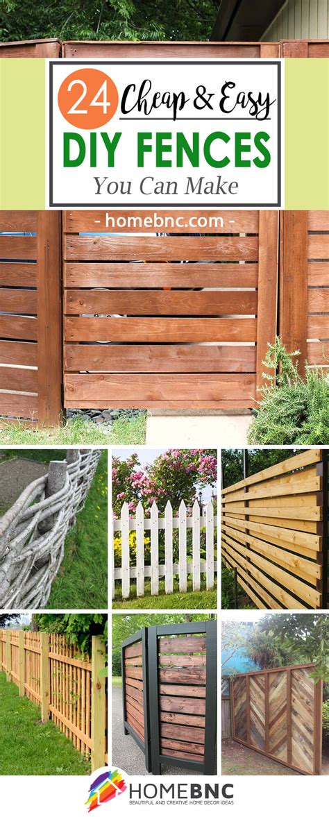 24 Best DIY Fence Decor Ideas and Designs for 2018