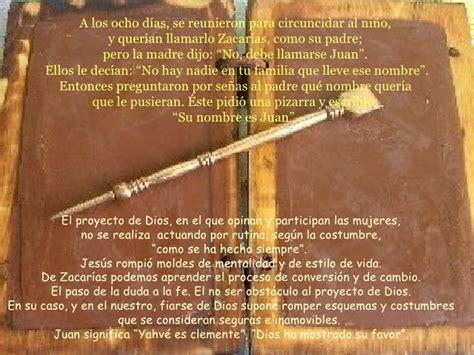24 de Junio: Nacimiento de San Juan Bautista