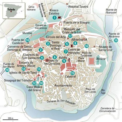 24 horas en Toledo, el mapa | El Viajero | EL PAÍS