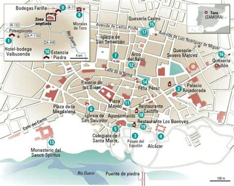24 horas en Toro, el mapa | El Viajero | EL PAÍS