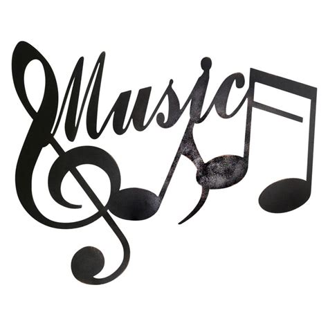24 X 19 in Music Notes Wall Décor   At Home | At Home