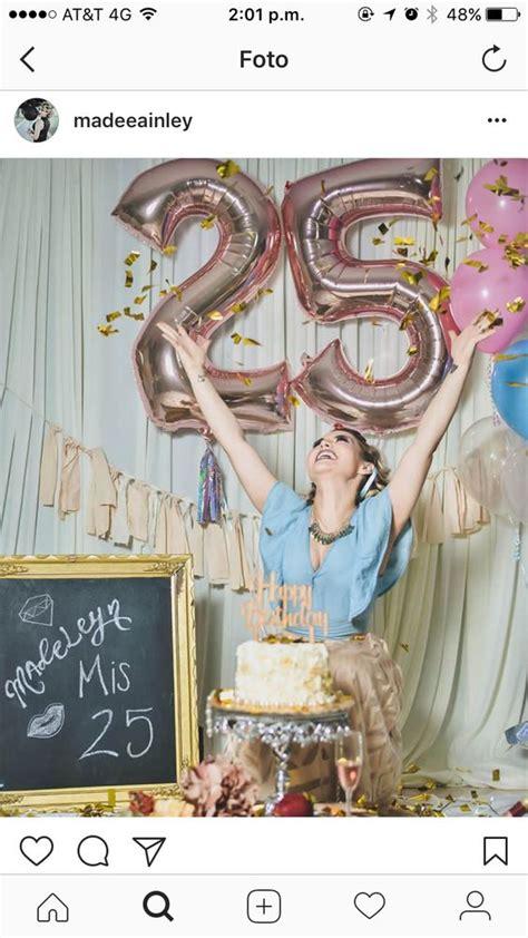 25 años cumpleaños decoración   +de 50 ideas para hombres ...