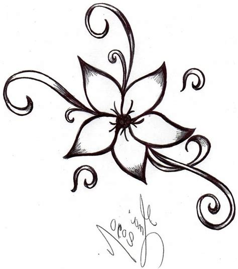 25+ best ideas about Easy To Draw Flowers on Pinterest ...