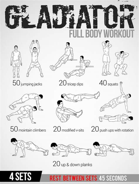 25+ best ideas about Full body workout plan on Pinterest ...