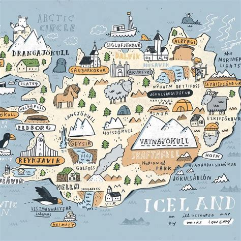 25+ Best Ideas about Map Of Iceland on Pinterest | Iceland ...