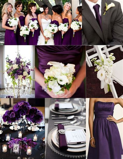 25+ Best Ideas about Purple Silver Wedding on Pinterest ...