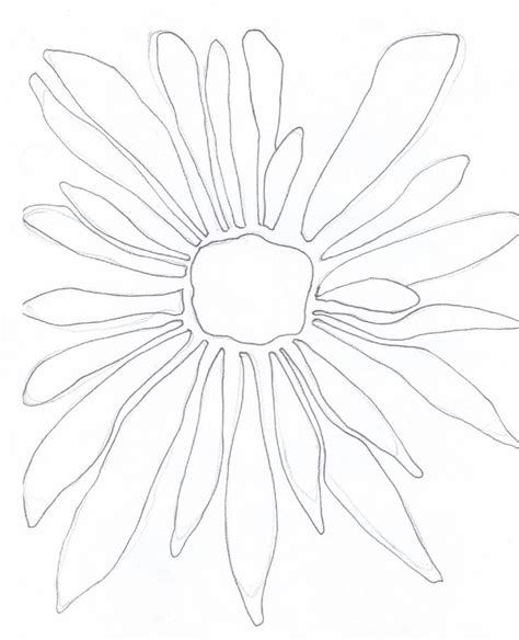 25+ best ideas about Simple flower drawing on Pinterest ...