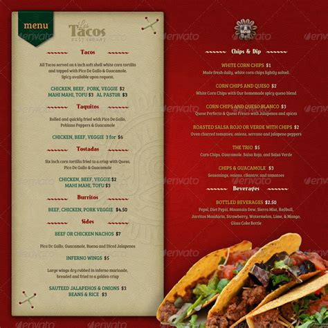 25 best images about mexican menus on Pinterest | Mexicans ...