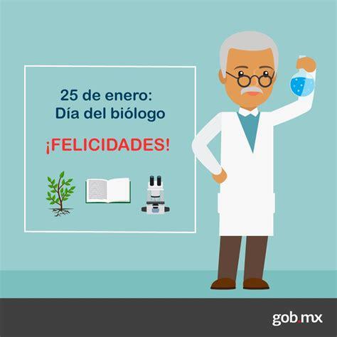 25 de enero día del #biólogo ¡felicidades! 3/3 - scoopnest.com