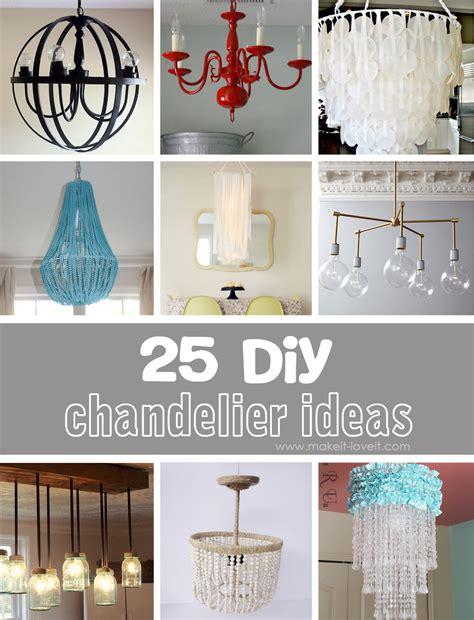 25 DIY Chandelier Ideas | Make It and Love It