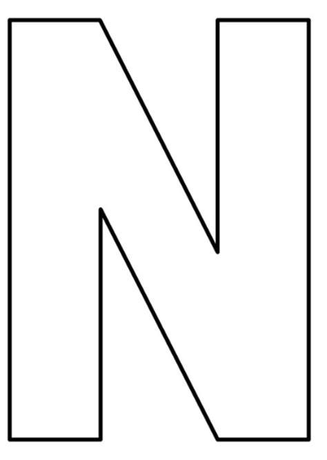 25+ melhores ideias de Molde de letras grandes no ...