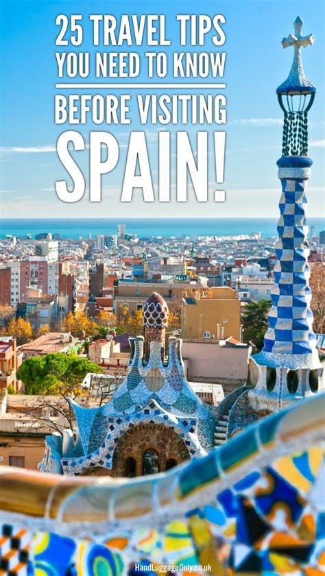 25 Travel Tips You Need To Know Before Visiting Spain ...