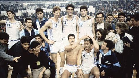 29 años de la Recopa de Petrovic vs. Schmidt (PARTIDO ...