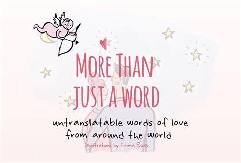 29 palabras y frases de amor que no tienen traducción a ...