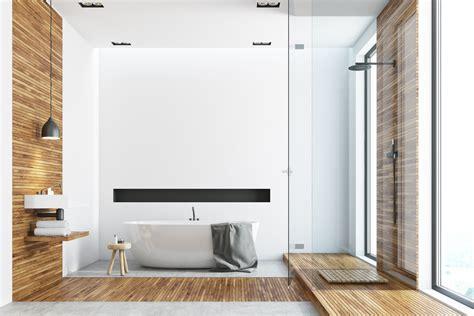 3 diseños de baños modernos que debes conocer - Mi Decoración