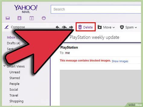 3 formas de borrar correo de Yahoo - wikiHow