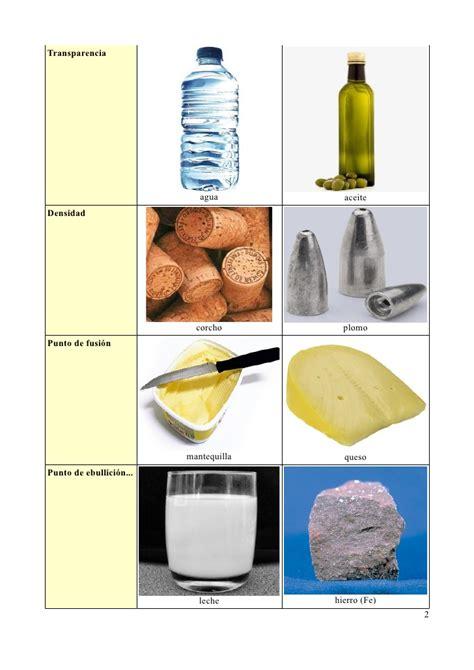 3.  Propiedades específicas de la materia