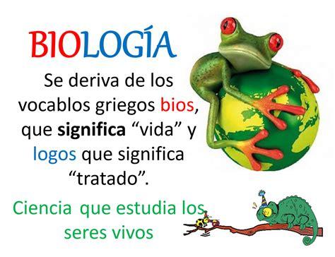 3.  Ramas de la Biología