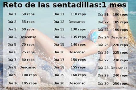 3 retos de ejercicios en 30 días, ¡para hacer en casa ...