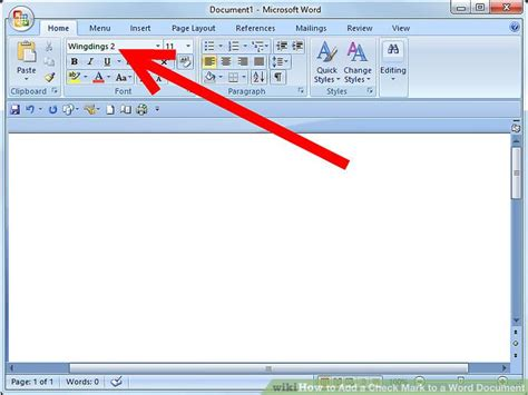 3 Ways to Add a Check Mark to a Word Document - wikiHow