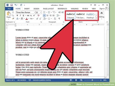 3 Ways to Convert Word to PowerPoint - wikiHow