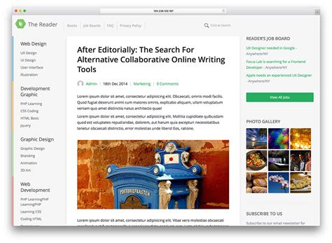 30 Best Blog WordPress Themes For Corporate, Personal ...
