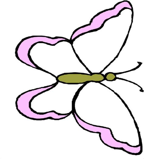30+ Butterfly Templates – Printable Crafts & Colouring ...