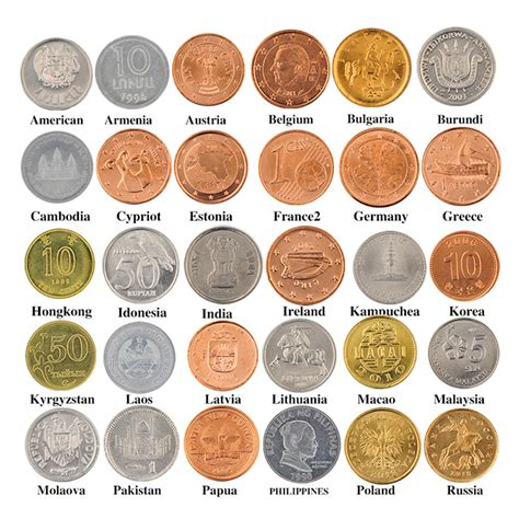 30 Coins Collection Set From Different 30 Countries Fine ...