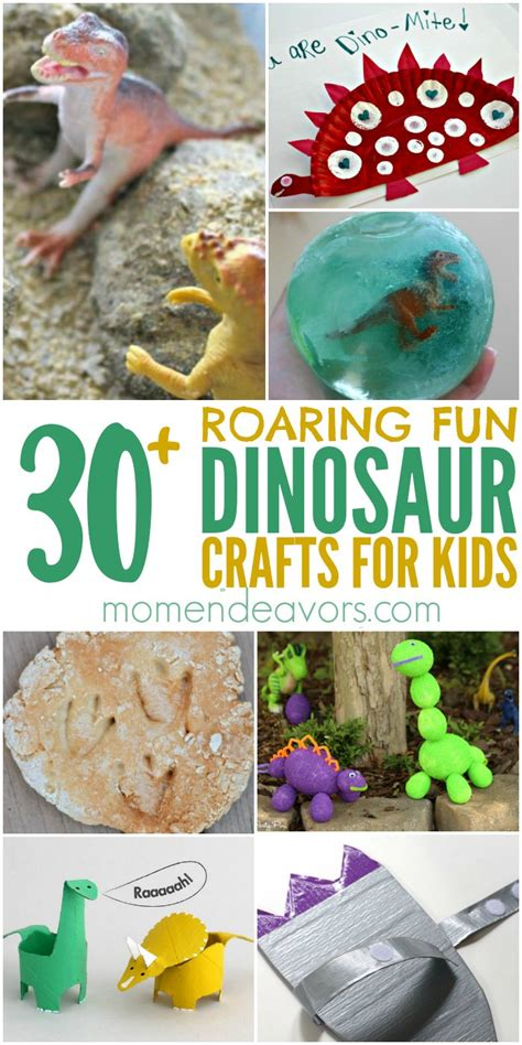 30+ Dinosaur Crafts & Activities for Kids!