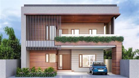 30 Diseños de fachadas de casas con terrazas - YouTube