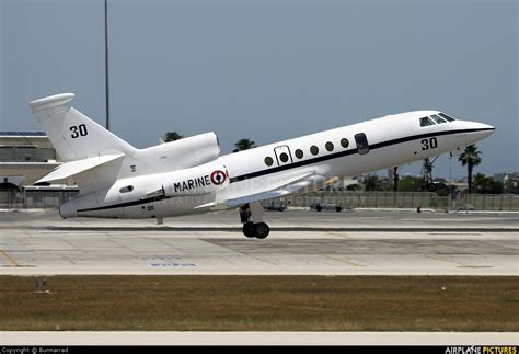 30   France   Navy Dassault Falcon 50 at Malta Intl ...