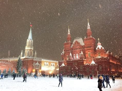 31 Most Beautiful Moscow Kremlin, Russia Pictures During Snow