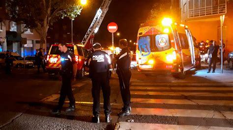 32 intoxicados por inhalación de humo en el incendio de un ...