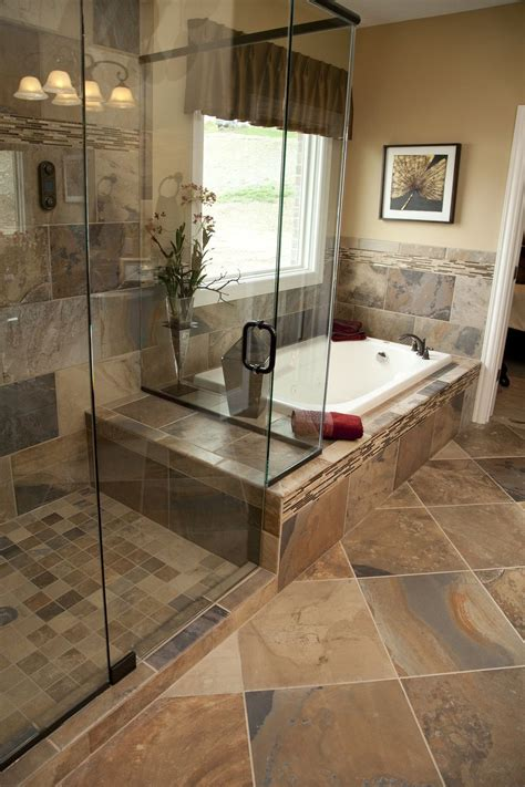33 stunning pictures and ideas of natural stone bathroom ...
